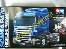 Tamiya R/C 1/14   SCANIA  R470 HIGHLINE  Tractor Truck  Kit  3-Speed   # 56318