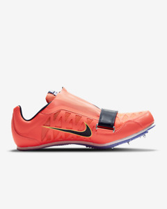 NEW Nike Zoom LJ 4 Long Jump Track Spikes Bright Mango 415339-800 Men's Size 10