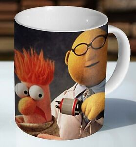 Dr Bunsen And Beaker Muppet Ceramic Coffee Mug - Cup