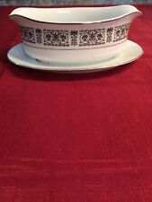 Fine China By Fashion Royale Madrid Collection Gravy Dish
