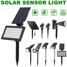 6/7/50 LED Solar Light Outdoor Garden Lawn Spike Lamps Landscape Lamp Spotlight