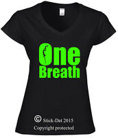 One Breath Diver Scuba diving ladies Shirt 100% cotton spearfishing spearo dive