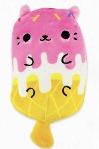 Cats vs Pickles 4-inch Beanbag Soft Plush Toy #23 Sprinkles