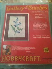 Hobbycraft  Gallery Of Stitches By Caryl Lynn Crewel Embroidery Kit  Chicory