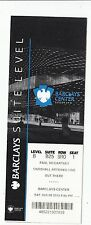 2013 JUSTIN BIEBER PENCILS OF PROMISE  BARCLAYS CENTER SUITE TICKET STUB 8/2/13
