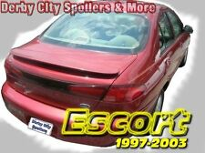 Ford Escort ZX2 Spoiler 97-03 Painted! Black (UA) NEW!