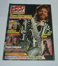 CIAO 2001 n 35 ( '85 ) TONY ESPOSITO, MOTLEY CRUE, TINA TURNER, MADONNA,BON JOVI