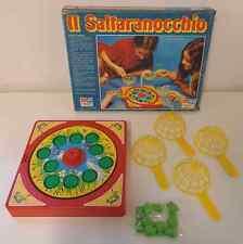 Gioco Scatola Vintage Vecchio Play Board Game Italiano 1981 eg IL SALTARANOCCHIO