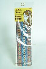 Vintage Goody Embroidered Head Band 1973 Nos New