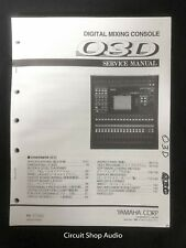 Original Yamaha / O3D Digital Mixing Console / Service Manual