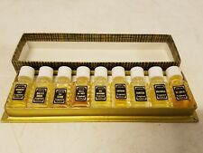 Vintage Creations Fragonard Set of 9 Mini Perfume Bottles 2 ml