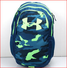 "Under Armour SCRIMMAGE 18.5"" Laptop Backpack - Large 25L Green Camouflage Camo"