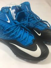 New Nike Zoom Code Elite 3/4 Td Mens Football Cleats Bl 620499-405 Size 13