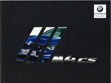BMW M4 CS Clubsport Prospekt, 2017, 20 Seiten