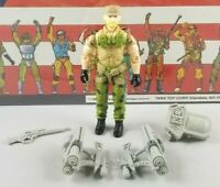 Original 1989 GI JOE ROCK & ROLL V2 cobra ARAH not COMPLETE figure