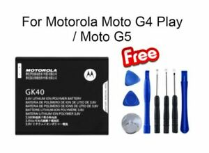 Genuine G5/GK40 2000mAh Battery Replacement For Motorola Moto G4 Play / Moto G5