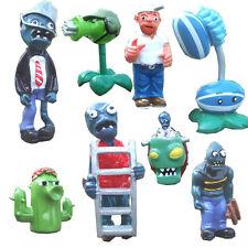8 Plants vs Zombies Crazy Dave Action Figures Set Kids Toy Cake Topper Car Decor