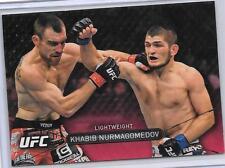 2016 Topps UFC High Impact Ruby Parallel KHABIB NURMAGOMEDOV 2/8