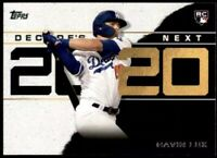 2020 Topps Gavin Lux RC Decade's Next #DN-10 - Los Angeles Dodgers