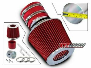 RED Short Ram Air Intake+Filter For 00-04 Spectra/05-09 Spectra 5 1.8L/2.0L L4
