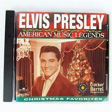 Elvis Presley Christmas Favorites Audio CD Cracker Barrel 2004 CB Music DRC13623
