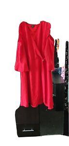 ladies plus size stunning wrap around dress size 28