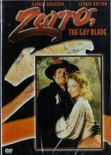 ZORRO THE GAY BLADE -  GEORGE HAMILTON CLASSIC COMEDY - NEW & SEALED DVD
