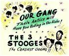 Внешний вид - Our Gang The 3 Three Stooges Original Lobby Card Larry Curly Shemp character art