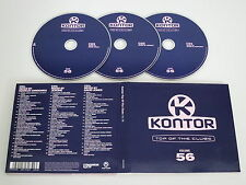 VARIOUS/KONTOR - TOP OF THE CLUBS VOLUME 56(KONTOR 1061851KON) 3XCD ALBUM