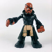 "Nick Fury Playskool Heroes Marvel Super Hero Adventures 2.5"" figure Hasbro Toy"