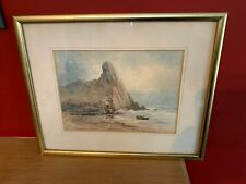 "'1897' ORIGINAL 'ALFRED PARKMAN' SIGNED WATERCOLOUR - ""HIGH TOR, GOWER"", WALES"
