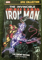 The Invincible Iron Man Marvel Epic Collection Vol 10 The Enemy Within TPB GN