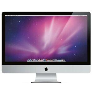 """Apple 27"""" inch iMac 2.8GHz Quad Core i5 A1312 All in One 16GB 3TB HDD MC511LL/A"""
