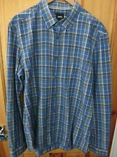 Mens Burton Menswear Check Shirt - Large