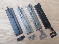 RAT TAIL CURLY-Hand forged blacksmith traditional vintage door bold slide bolt