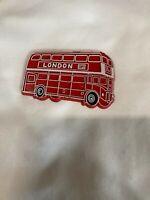 Vintage  London Bus  Magnet