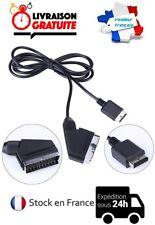 CABLE CORDON PERITEL RGB AV/TV NEUF CONSOLE PLAYSTATION PS1 PS2 PS3