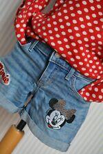 °° Abercrombie KIDS °° Jeans Shorts °° Mickey °°  Gr. 128cm °°