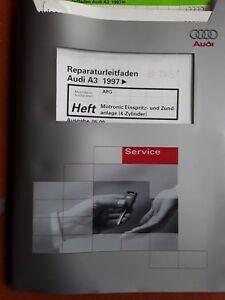 Reparaturleitf. Audi A3 1997, Ausg. 05.00 Motronic Einspritz- u Zündanlage #2461