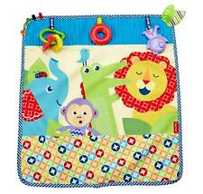 Fisher-Price On-the-Go Activity Throw Baby Blanket