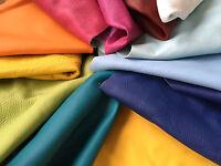 Rindleder Lederreste bunt Lederstücke freie Farbauswahl, Preis pro kg