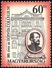 Hungary 1995 Sc3505 $ 1.6  Mi4357 2.0 MiEu  1v  mnh  Eotvos College, Cent.