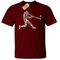 Baseball Player Mens T-Shirt