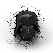 Star Wars Darth Vader Head 3D Light Lampe Murale 25cm PHILIPS 3D LIGHT FX