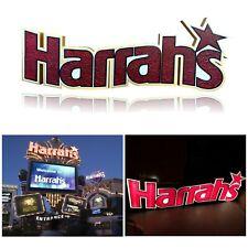 Harrah's Hotel Las Vegas Authentic Used Full Neon Sign Original Vintage Casino