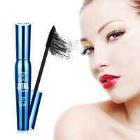 4D Silk Fiber Lash Mascara Eyelashes Waterproof Long Extension Lasting MakeUp kx