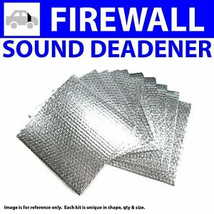 Heat & Sound Deadener Dodge D Truck 1972 - 1980 Firewall Kit 13518Cm2