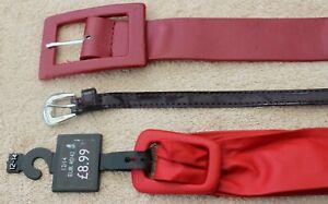 Women's Belt Bundle. 3 Beautiful Women's Belts. Next Women's Belt.