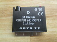 Opto 22 G4 OAC5A Output Module G4 0AC5A (Pack of 3)