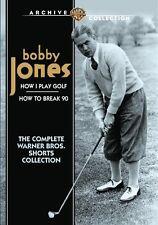 BOBBY JONES: THE COMPLETE WARNER BROS SHORTS COLL Region Free DVD - Sealed